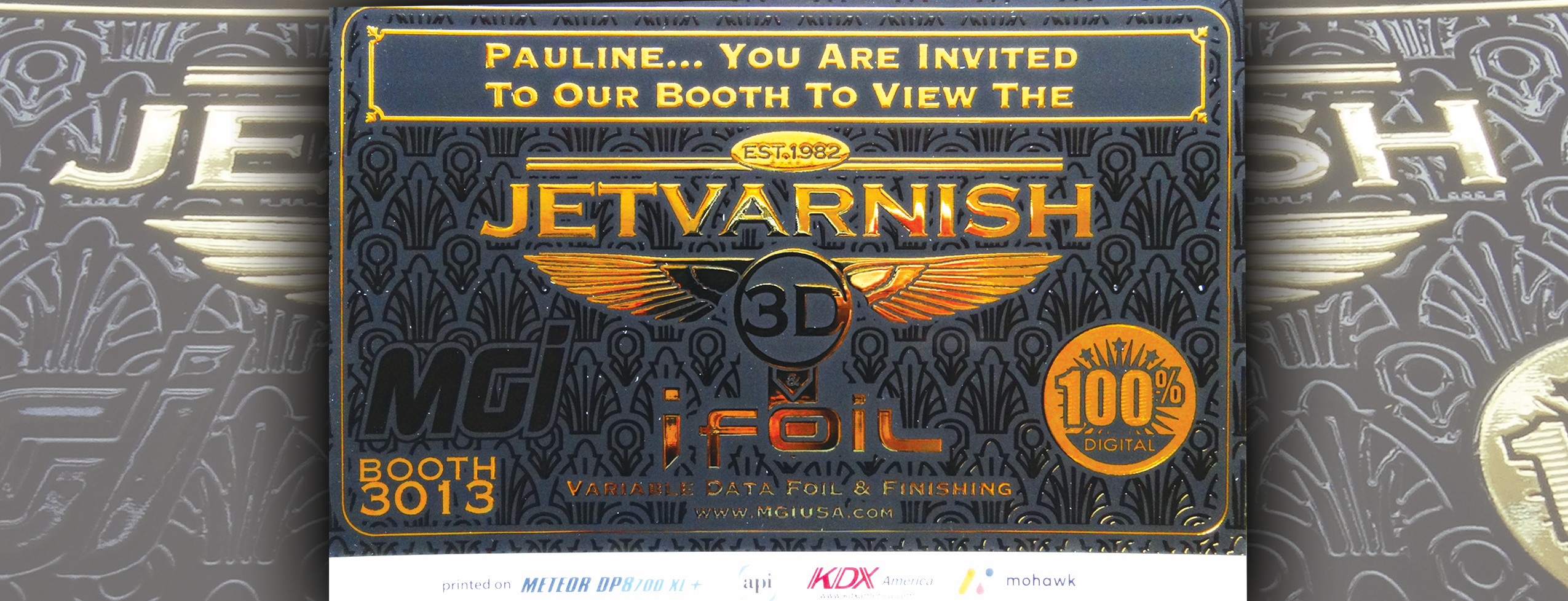 MGI JETvarnish 3D and iFOIL