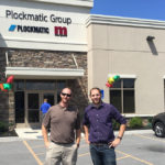 Shawn & Steve pictured in front of Morgana's new facility