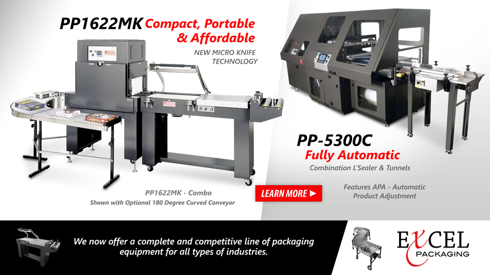 Packaging equipment for all types of industries
