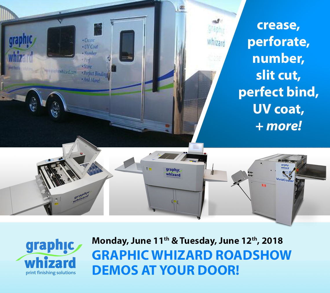 Graphic Whizard Equipment Roadshow