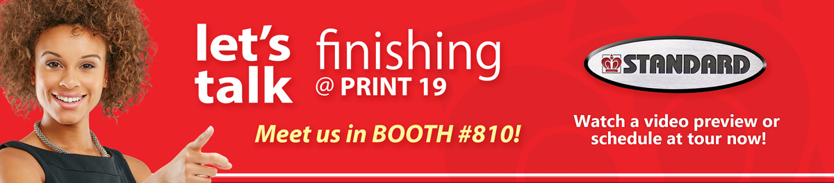 Standard Finishing Systems PRINT 19