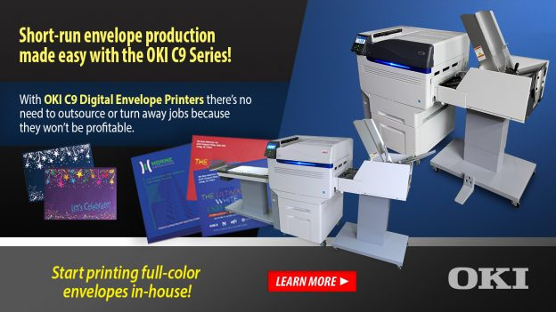 OKI C9DP Series - Digital Envelope Printers