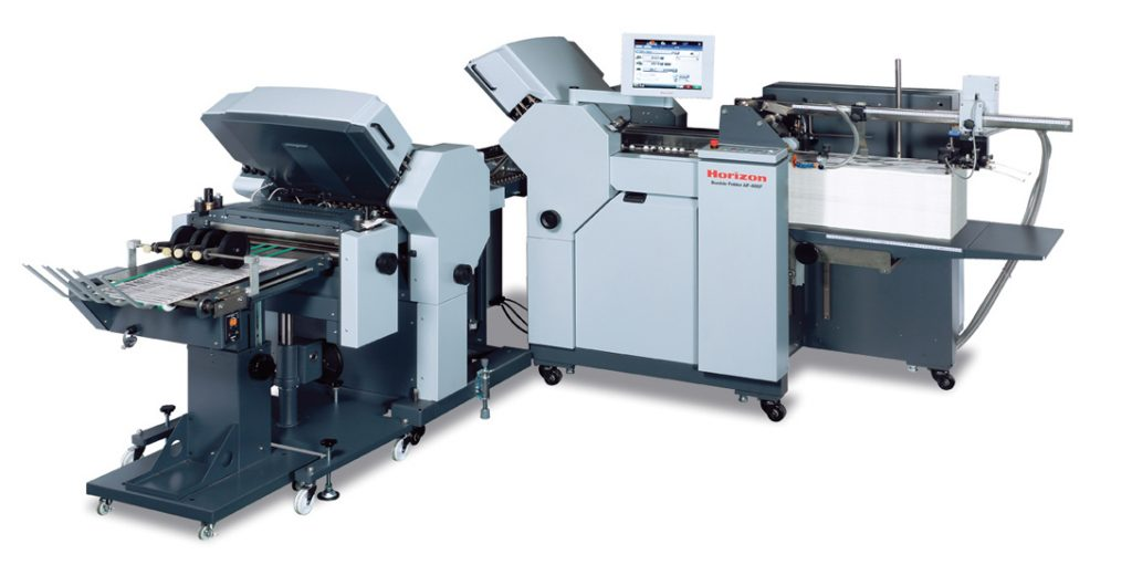 Creasing and folding - Horizon AF-406F Small Format Paper Folder