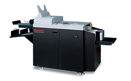 Creasing and folding - Horizon CRF-362 Creaser Folder